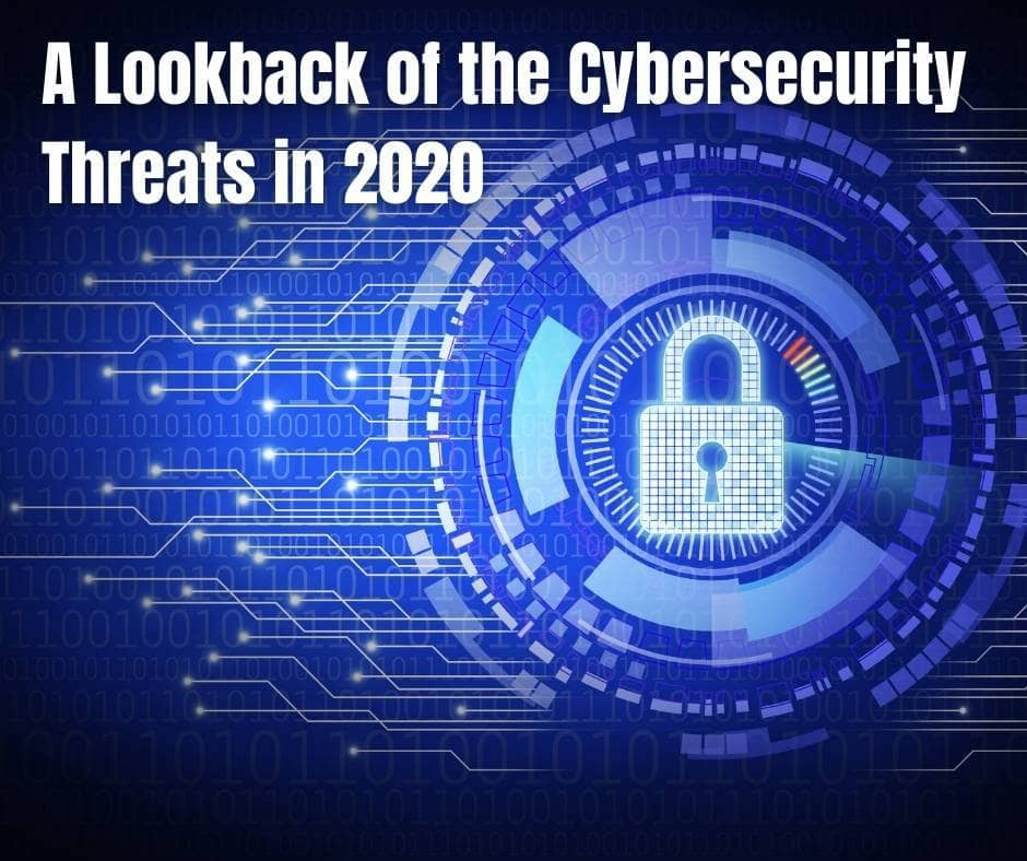 cybersecurity threats in 2020