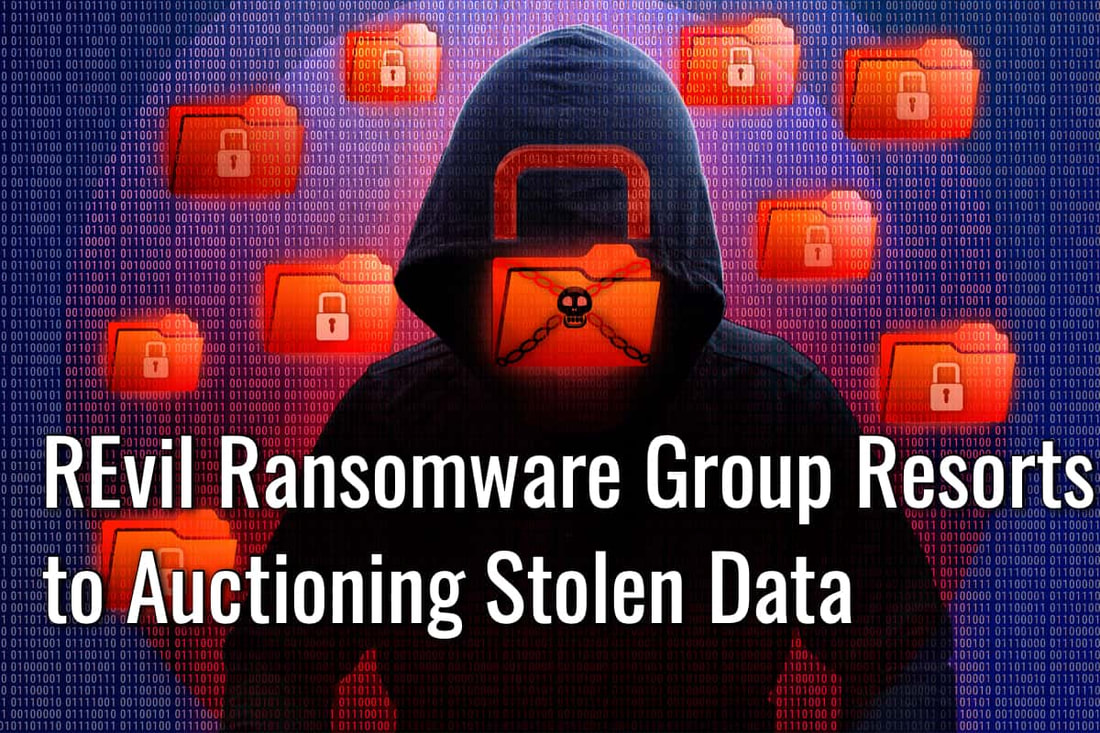 REvil ransomware group