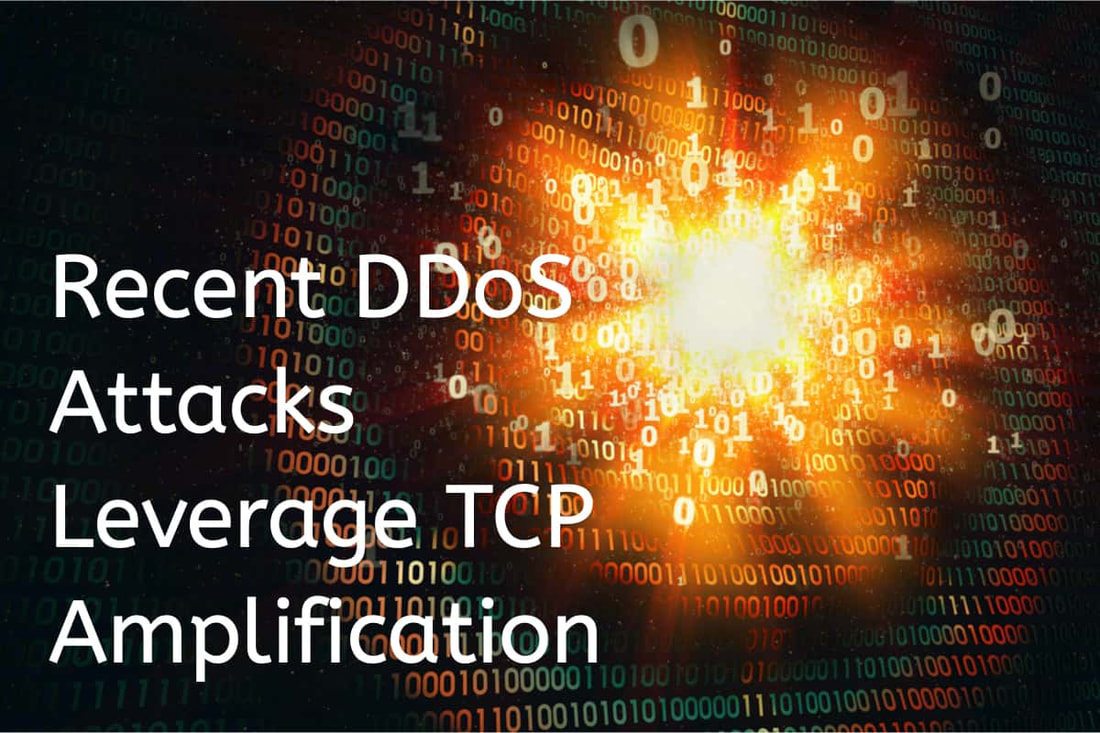 TCP Amplification DDoS attack