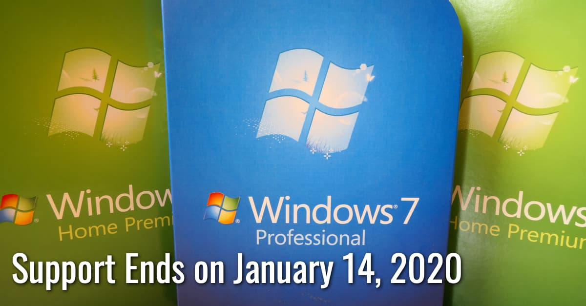 Windows 7 Support to End Soon